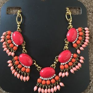 Jewelry - NWT Cute pink/red Afghan boho gypsy necklace (: